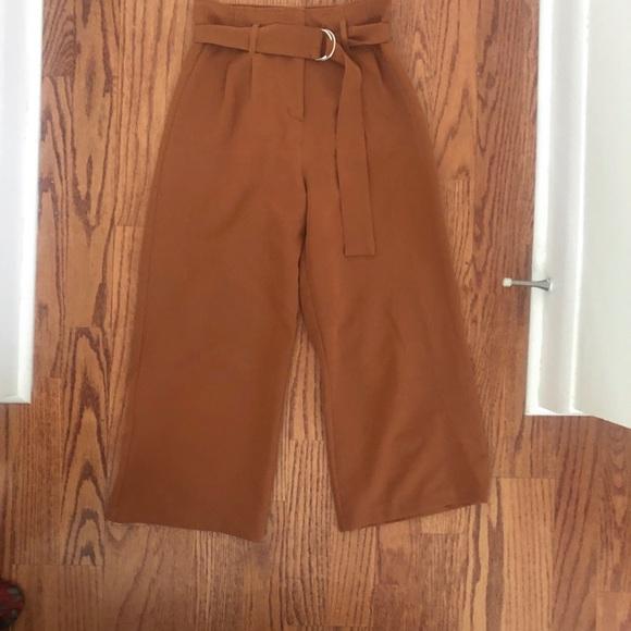 Dynamite high waisted wide legged pants XS
